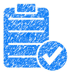 Apply form grunge icon vector