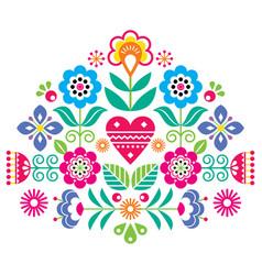 Bohemian mandala dot painting design vector