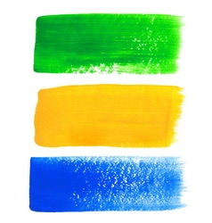 Brazil acrylic banners vector