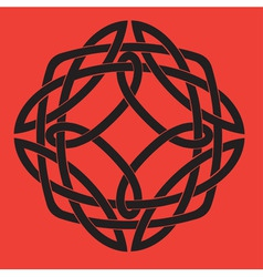 Celtic knot vector image