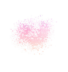 hand painted watercolor pink and purple splatter vector image