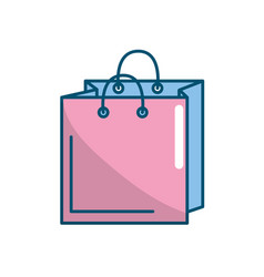 Shopping bag design to save the products vector