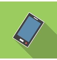 Smartphone flat icon vector