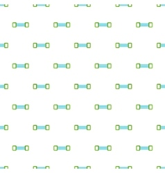 Spring expander pattern cartoon style vector