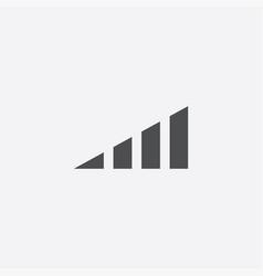 volume level icon vector image
