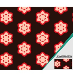 geometric seamless pattern for your design vector image vector image