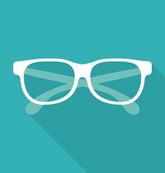 Glasses design vector image vector image