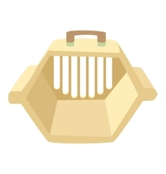 Carrying animals icon cartoon style vector image