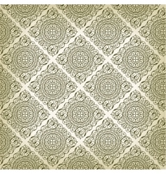 Vintage Art Deco style seamless pattern texture vector image