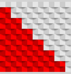Contrast red and grey geometric technology vector