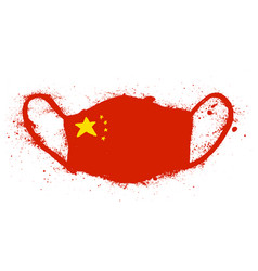 coronavirus in china novel 2019-ncov vector image
