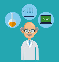 doctor male healthy icons vector image