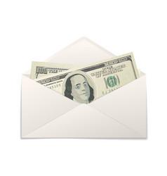 fake two one hundred usa dollars banknotes vector image