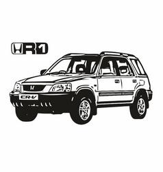 Honda cr-v rd1 vector