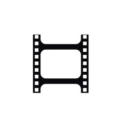 Isolated photographing icon film element vector