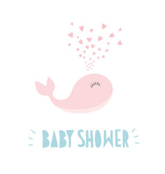 lovely baby shower sweet vector image