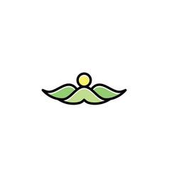 mountains landscape logo icon symbol element vector image