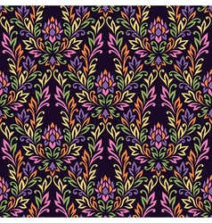 Pattern ornament flower vector