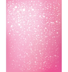 pink star background vector image vector image