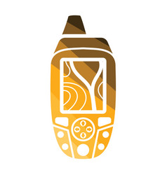 portable gps device icon vector image