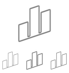 Real estate logo design set vector