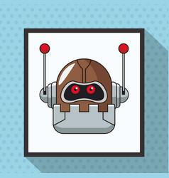 robot smart technologies artificial vector image