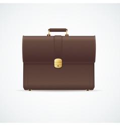 briefcase cuitcase vector image