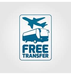 Free transfer icon 01 vector image