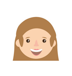 character woman female family member vector image vector image