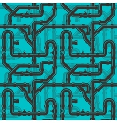 Water Piping Seamless pattern vector image