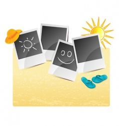 summer background photo vector image vector image
