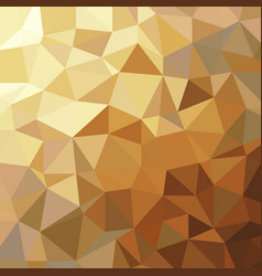 abstract golden triangle low polygon geometric vector image