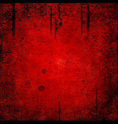 Bloody grunge abstract texture background vector