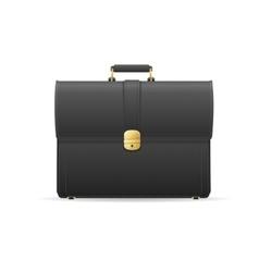 Briefcase cuitcase vector