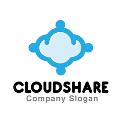 Cloud Share Design vector