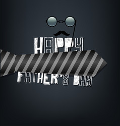 Fathers day vector