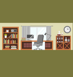 Interior details design stylized drawing modern vector