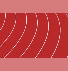 Red track running in stadium vector