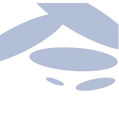 Repeat geometrical blue oval shape vector
