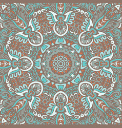 Seamless pattern tribal background vector