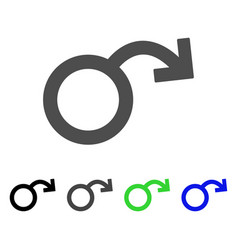 Sexual impotence icon vector
