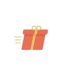 speed box icon vector image