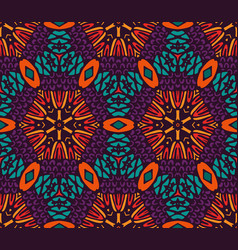 Arabesque mosaic seamless pattern vector