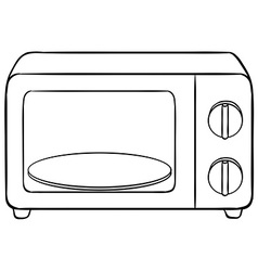 Microwave vector image