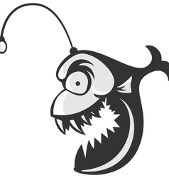 Angler Fish Logo vector