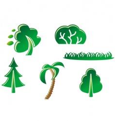 nature symbols vector image