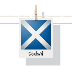 Photo of scotland flag vector