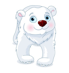 polar bear vector image