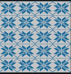Seamless pattern snowflakes imitation of vector