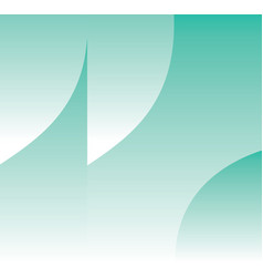 turquoise wave abstract background vector image